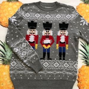 Urban Outfitters Ugly Christmas Nutcracker Sweater